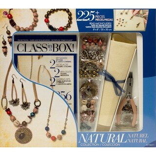 Jewelry Basics Class In A Box Kit-Natural