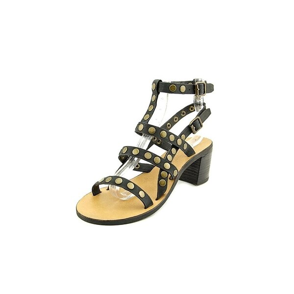 POLO Ralph Lauren Womens Lexi Leather Open Toe Casual Strappy Sandals