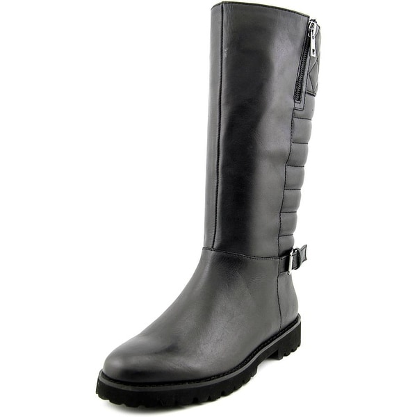 Easy Spirit Briano Women Round Toe Leather Mid Calf Boot