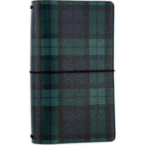 "Echo Park Traveler's Notebook 6""X9""-Black Watch"