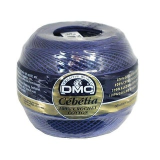 DMC Cebelia Crochet Cotton 10 Royal Blue