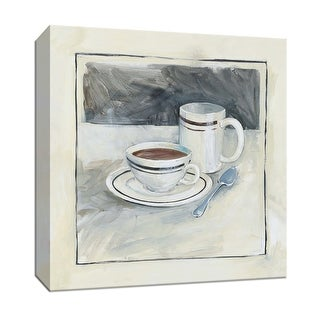 """PTM Images 9-151893  PTM Canvas Collection 12"""" x 12"""" - """"Morning Coffee"""" Giclee Coffee, Tea & Espresso Art Print on Canvas"""