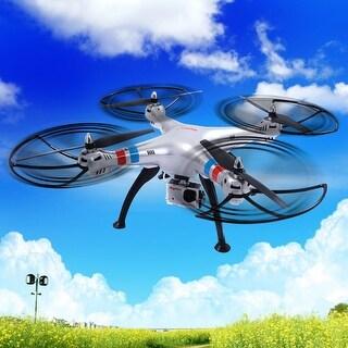 Syma X8G 4CH Gyro RC Quadcopter Explorers Drone 8MP HD Camera UAV RTF UFO - Sliver