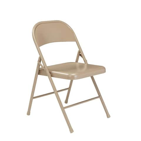 (4 Pack) Commercialine All Steel Folding Chair