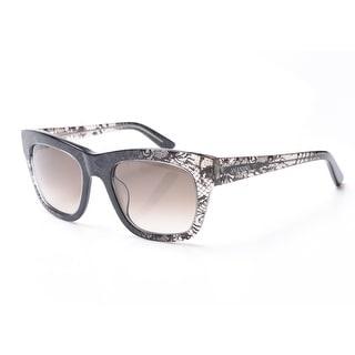 Valentino Women's Snake Skin Classic Style Sunglasses Grey - Small