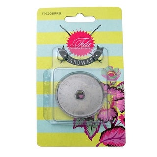 """Link to Tula Rotary Cutter 45mm Replacement Blade - 1"""" x 3"""" x 3"""" Similar Items in Sewing & Quilting"""