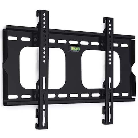 """Mount-It! Low Profile Fixed Plasma & LCD TV Mount Compatible Samsung, Sony, LG, Panasonic TVs for Most 23"""" to 37"""" Up to 165 Lbs."""