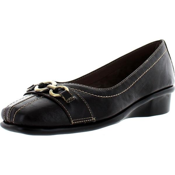 Aerosoles Women's Megaphone W Slip-On Loafer - Dark Brown