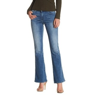 7 For All Mankind NEW Blue Womens 28x30 A-Pocket Flare Stretch Jeans