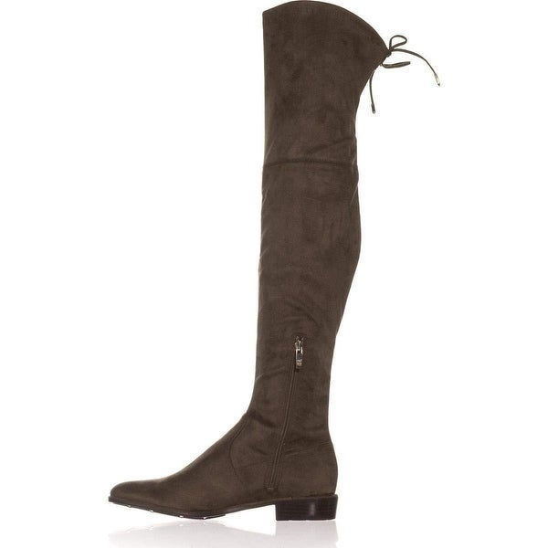 Marc Fisher Womens Humor2 Fabric Closed Toe Over Knee Fashion Boots