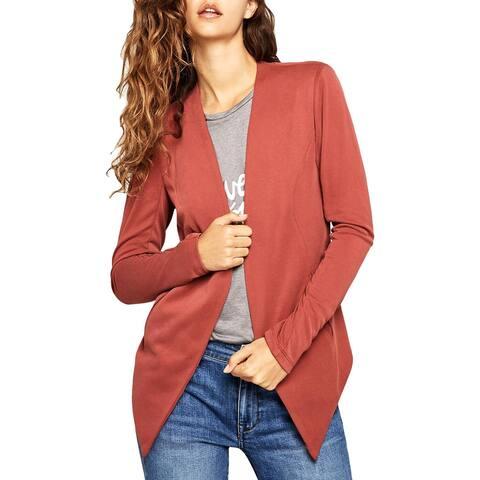 BCBGeneration Womens Blazer Rib-Knit Tuxedo