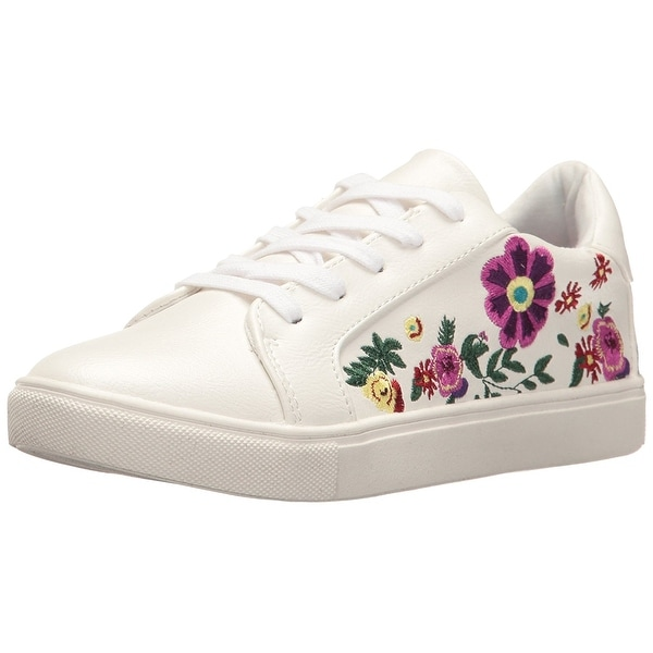 Betsey Johnson Womens Mayas Low Top Lace Up Fashion Sneakers