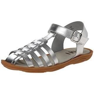 Umi Girls Cady II Leather Slingback Sandals - 2 medium (b,m)
