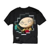 Changes Men's Family Guy Stewie Miner T-Shirt
