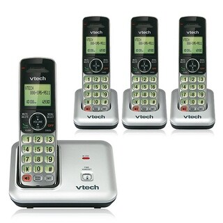 Vtech CS6619 Cordless Phone with CS6609(3 Pack) Accessory Handset