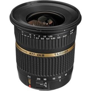 Tamron SP AF 10-24mm f / 3.5-4.5 DI II Zoom Lens For Canon DSLR Cameras - Black