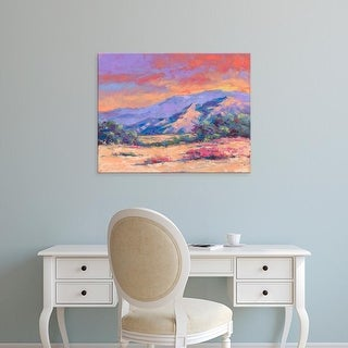 Easy Art Prints Julie G. Pollard's 'Desert Dessert' Premium Canvas Art