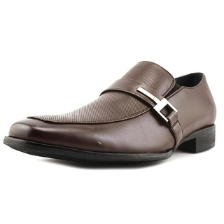 Steve Madden See More Men  Square Toe Leather Brown Loafer