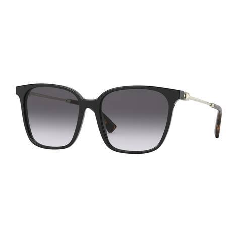Valentino VA4078 50018G 57 Black Woman Square Sunglasses