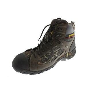 Caterpillar Mens Hoit Mid Leather Composite Hiking Boots - 9.5 medium (d)