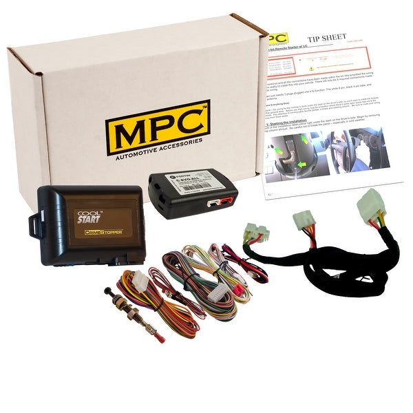 Shop Complete Add On Remote Start Kit With T Harness For 2016 2018