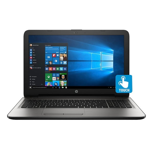 "Refurbished - HP 15-AY020CY 15.6"" Touch Laptop Intel Pentium N3710 1.6GHz 4GB 500GB Windows 10"