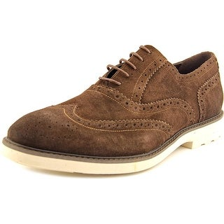 Kenneth Cole Reaction Prom-otion Wingtip Toe Suede Oxford