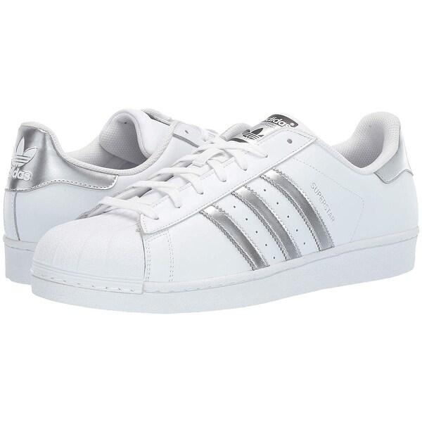 adidas Originals Women's Superstar Foundation J Running Shoe 13.5