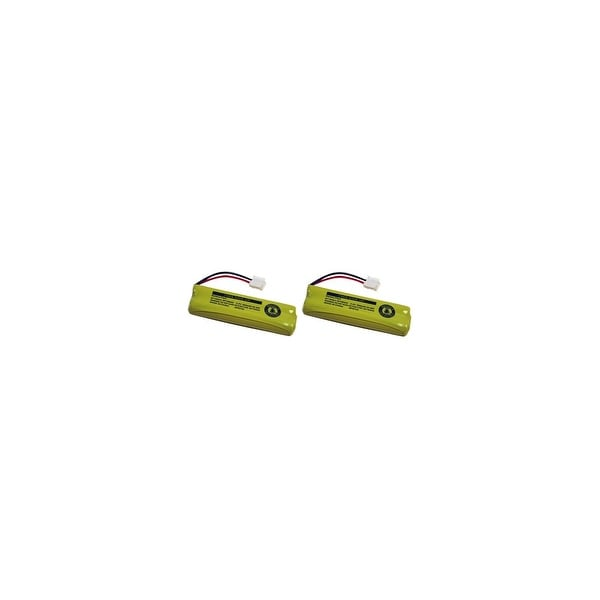 Replacement 500mAh Battery For Vtech LS6225 / LS6225-2 Phone Models (2 Pack)