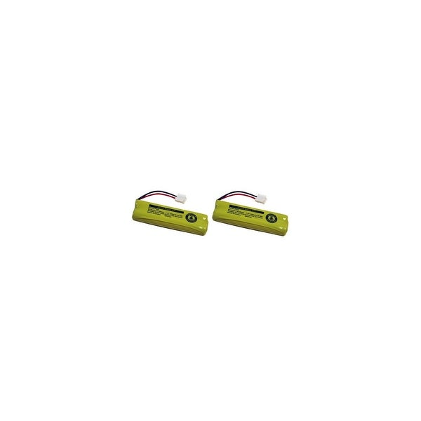 Replacement For VTech BT18443 Cordless Phone Battery (500mAh, 2.4v, NiMH) - 2 Pack