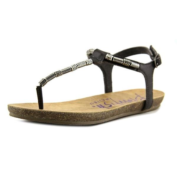 Blowfish Galoya Women Open-Toe Synthetic Gray Slingback Sandal