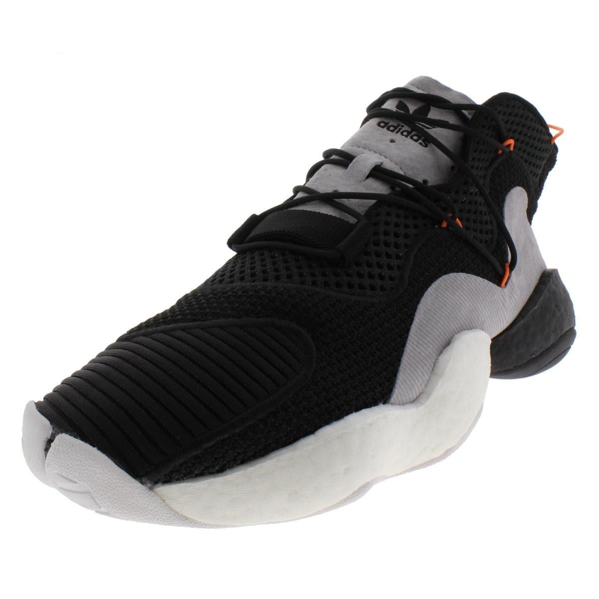 buy popular ef3b1 d9af0 adidas Originals Mens Crazy BYW Basketball Shoes Knit Lightweight