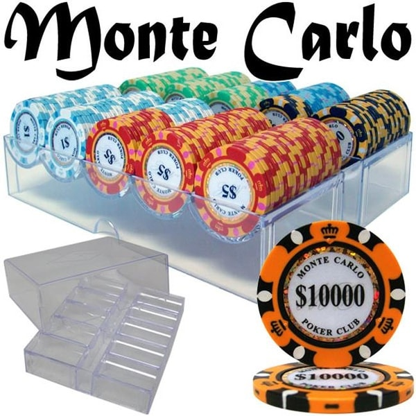 Shop Pcs 2601a Pre Pack 200 Ct Monte Carlo Chip Set In