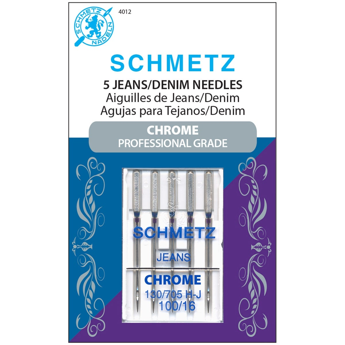 Size 100 1-Pack Euro-Notions Hemstitch Needle 3 Pack