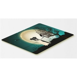 Carolines Treasures BB2288CMT Halloween Scary Smooth Fox Terrier Kitchen or Bath Mat 20 x 30
