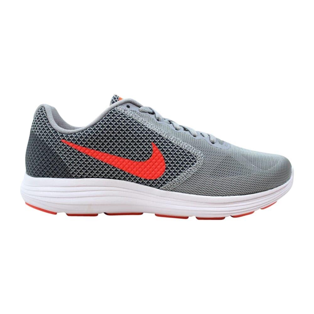 Shop Nike Revolution 3 Wolf Grey/Hyper
