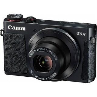 Canon PowerShot G9 X Digital Camera (Black) (International Model)
