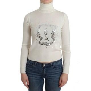 Galliano Galliano White wool turtleneck sweater - XS
