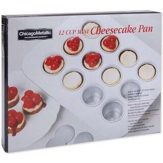 """Mini Cheesecake Pan-13.75""""X10.5"""" (12 Cavity 2""""X1.25"""")"""