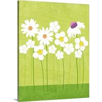 Premium Thick-Wrap Canvas entitled Spring Flowers graphic poster