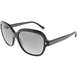 Coach Women's HC8192-542011-56 Black Square Sunglasses