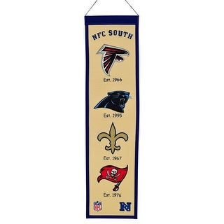 NFC South Wool Heritage Banner