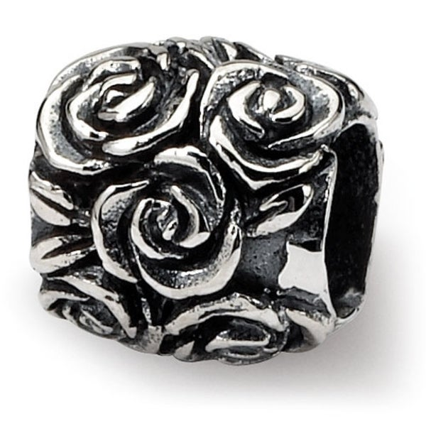 Sterling Silver Reflections Kids Floral Bali Bead (4mm Diameter Hole)