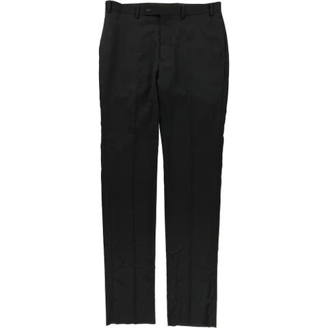 Calvin Klein Mens Textured Dress Pants Slacks