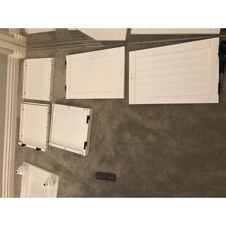 ... Maybelle Beige Velvet Cushioned Shutter Door Storage Bench by iNSPIRE Q Classic ...  sc 1 st  Overstock.com & Maybelle Beige Velvet Cushioned Shutter Door Storage Bench by ...