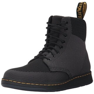 Dr. Martens Womens Rigal Knit Closed Toe Ankle Fashion Boots - 3 medium uk (4 us)