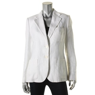 Lauren Ralph Lauren Womens Blazer Button Down Long Sleeves - 12