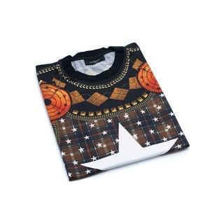 Givenchy Men's Black Graphic Star T-Shirt