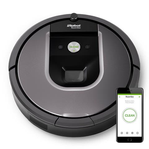 "iRobot Roomba 960 Robot Vacuum with WiFi - 17"" x 21.6"" x 5.5"""