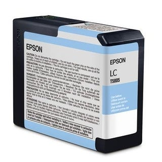 Epson America T580500 Lt Cyan Ultrachrome Ink Cart.